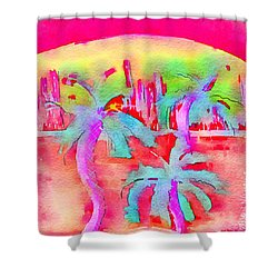 Heatwave Shower Curtain