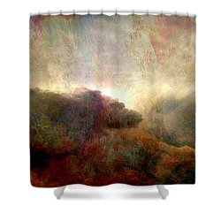 Heaven And Earth - Abstract Art Shower Curtain