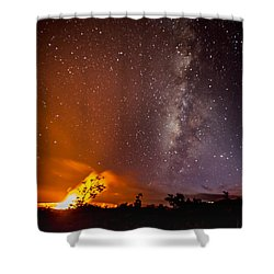 Shower Curtain featuring the photograph Heaven And Hell by Allen Biedrzycki