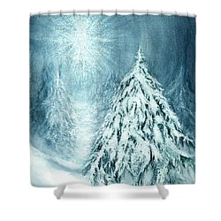 Heaven And Nature Sing  Shower Curtain by Janine Riley