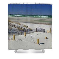 Heaven At Mayflower Beach Shower Curtain