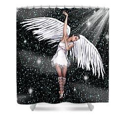 Heaven Bound Shower Curtain by Rosalie Scanlon