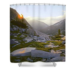 Heaven Can't Wait Shower Curtain