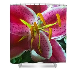 Heaven Scent Shower Curtain by Geri Glavis