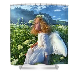 Shower Curtain featuring the photograph Heaven Sent by Phil Koch