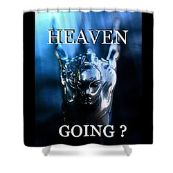 Heaven T Poster #1 Shower Curtain by David Lee Thompson
