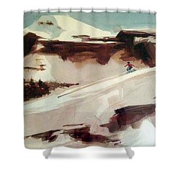 Heavenly Shower Curtain by Ed Heaton
