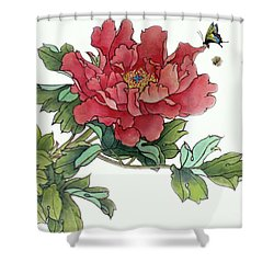 Heavenly Flower Shower Curtain