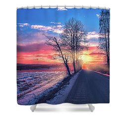 Heavenly Journey Shower Curtain