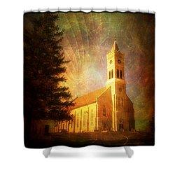 Heavenly Light Shower Curtain