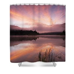 Heavenly Skies Shower Curtain by Mike  Dawson