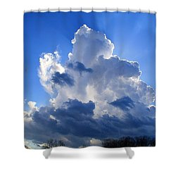 Shower Curtain featuring the photograph Heavenly Sunlight by Kathryn Meyer