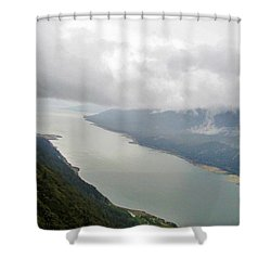 Heavens Door Shower Curtain by Martin Cline