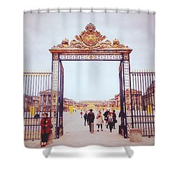 Heaven's Gates Shower Curtain by Ashley Hudson