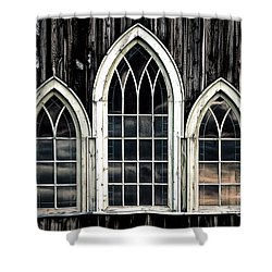 Heaven's Reflection Shower Curtain by Brad Allen Fine Art