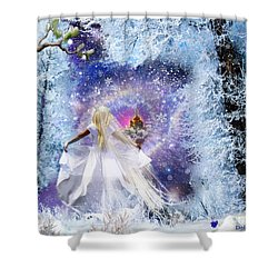 Heavens Window Shower Curtain