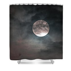 Heaven's Work Shower Curtain by Sandy Molinaro