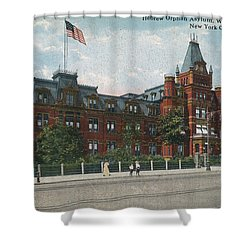 Shower Curtain featuring the photograph Hebrew Orphan Asylum by Cole Thompson
