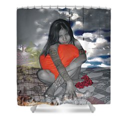 Hechicera Shower Curtain