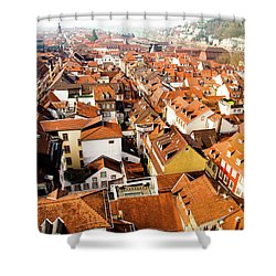 Heidelberg Cityscape Shower Curtain