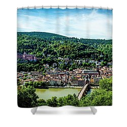Shower Curtain featuring the photograph Heidelberg Germany by David Morefield