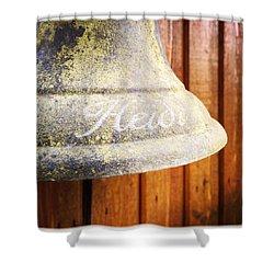 Heidi Bell Shower Curtain by Matthias Hauser