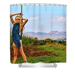 Heidi Estrella #1 Shower Curtain