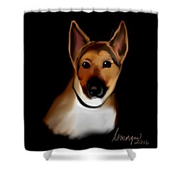 Heidi Girl Shower Curtain