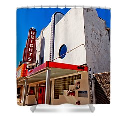 Heights Movie Theater Shower Curtain