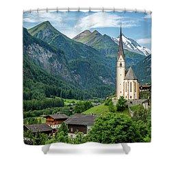 Heiligenblut Am Grossglockner Shower Curtain
