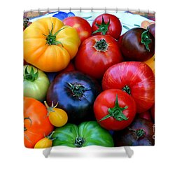 Heirloom Tomatoes Shower Curtain