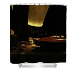 Shower Curtain featuring the photograph Held In Quiet Reserve by Linda Shafer
