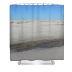 Helecopter Shirley New York Shower Curtain by Bob Savage