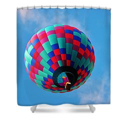 Helen Hot Air Balloon Shower Curtain
