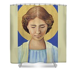 Helen Keller Shower Curtain