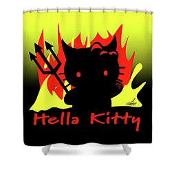 Hella Kitty Shower Curtain