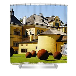 A Load Of Balls In Hellbrun Shower Curtain