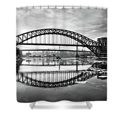 Hellgate Full Reflection Shower Curtain