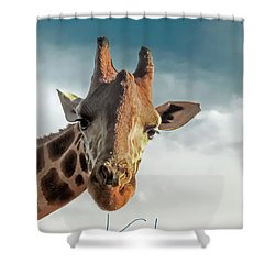 Shower Curtain featuring the photograph Hello Down There by Karen Lewis