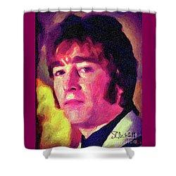 Hello Goodbye To John Shower Curtain