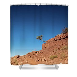 Hello Hikers Shower Curtain
