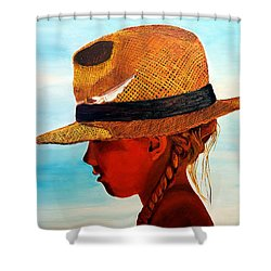 Hello Mr. Sunshine Shower Curtain