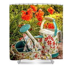 Shower Curtain featuring the photograph Hello Summer by Teri Virbickis