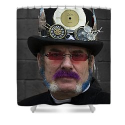 Hello Vicar Shower Curtain