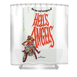 Hell's Angels Shower Curtain