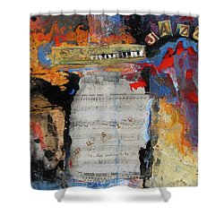 Hell's Jazz Shower Curtain