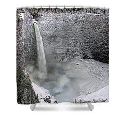 Helmcken Falls Shower Curtain