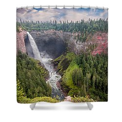Helmcken Falls Shower Curtain