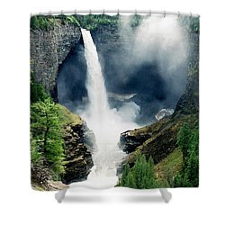 Helmken Thunder Shower Curtain