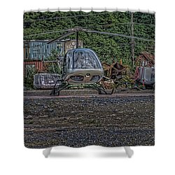 Shower Curtain featuring the photograph Help 4 by Timothy Latta